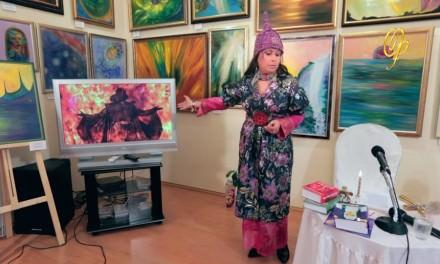Виктория Преображенская и космическое полиискусство