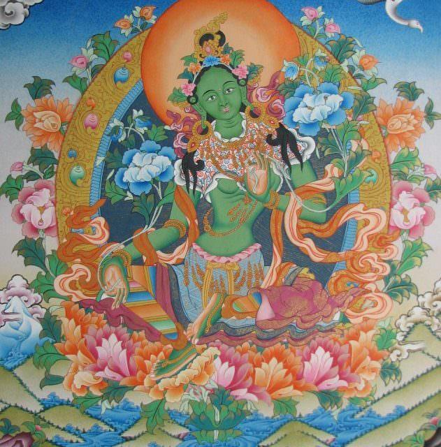 Медитация на Зелёной Таре