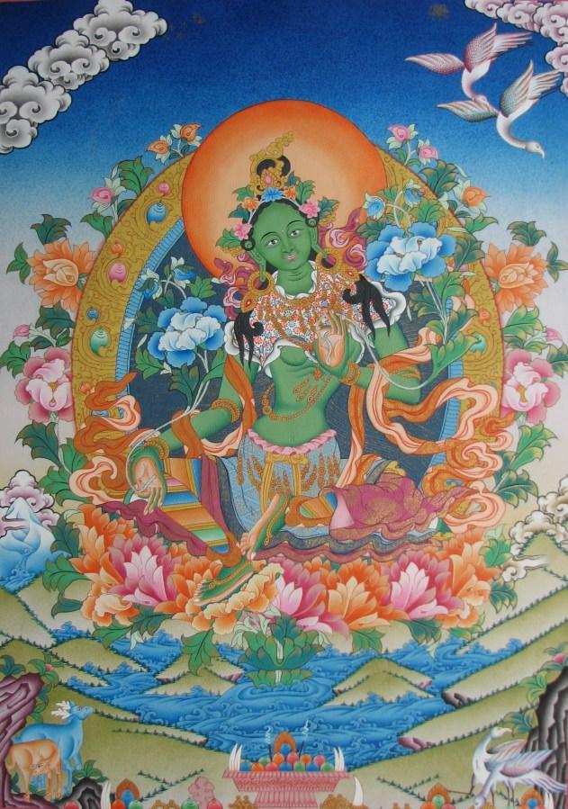 практика медитации на Зеленой Таре