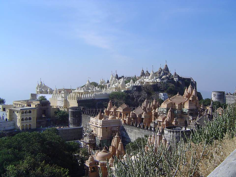 Палитана - храмовый комплекс джайнов. Индия