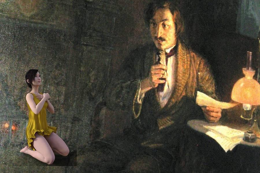 Как дух Гоголя станцевал для студенток-первокурсниц