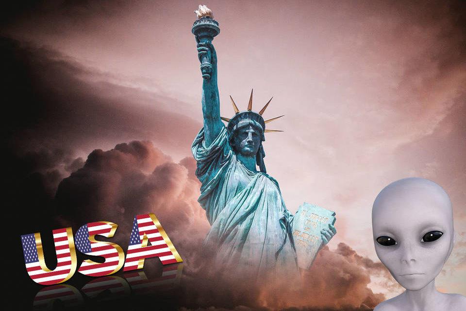 Соединенные Штаты Америки создали пришельцы?