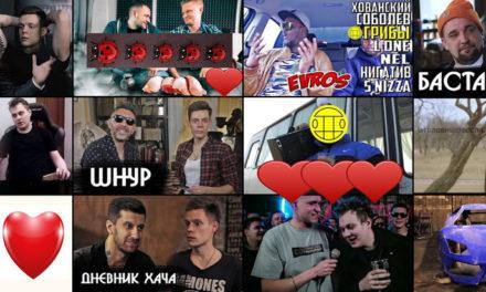Топ русских видеоблогеров
