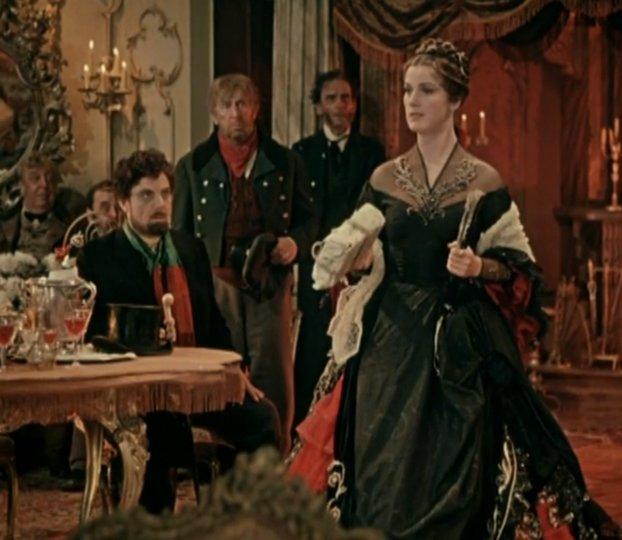 Юлия Борисова в роли Настасьи Филипповны. 1958 год