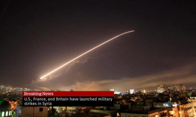 Удар западных стран по Сирии 14 апреля 2018: ответить нельзя бездействовать?