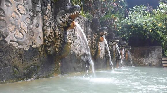 минеральные источники Бали
