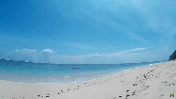 пандава бич пляж на бали