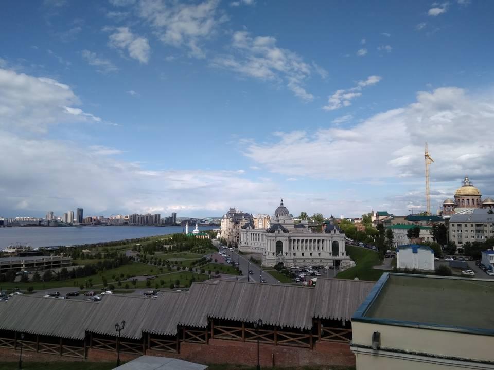 Вид со стороны Казанского Кремля