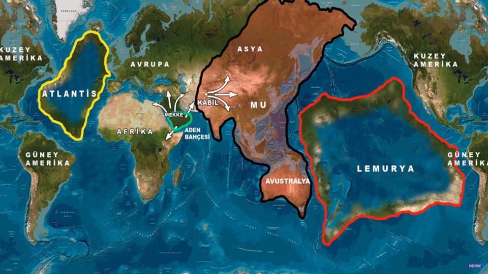 Лемурия и Атлантида