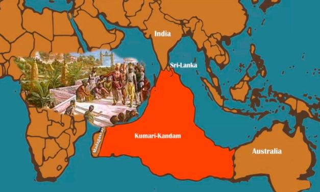 Кумари Кандам – легендарный континент в Индийском океане