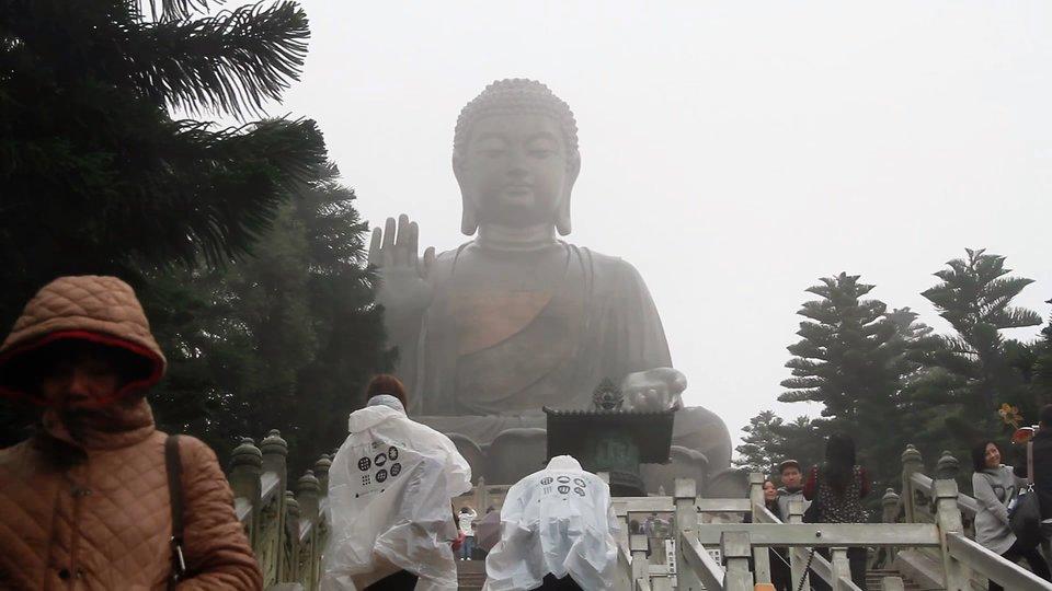Каменное изображение Будды